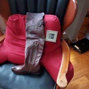 Frye boots over the knee
